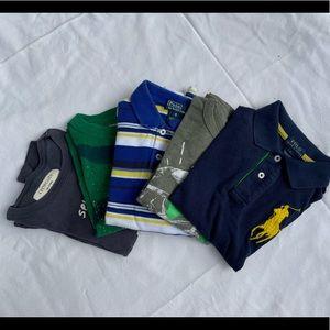 Crewcuts & polo mixed tee bundle, size 5